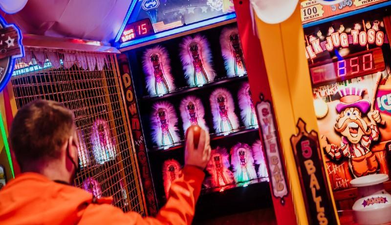 Funstation Carnival Gaming at Fountain Park